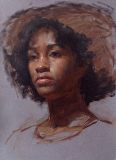 4 hour portrait sketch…oil on paper. patrick byrnes art et al new york Portrait Sketches, Portrait Art, Portrait Paintings, Acrylic Portrait Painting, Painting & Drawing, Classical Realism, African American Artist, Africa Art, Traditional Paintings