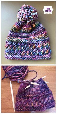 7770aa03a4a Knit Perky Little Hat Free Knitting Pattern