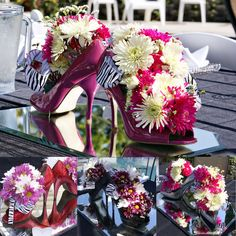 barbie bridal shower ideas   Since my sister (and Barbie) has this obsession with shoes, we decided ...