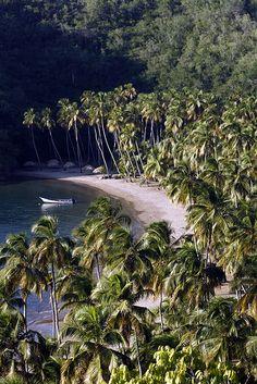 The bay at Playa Medina, Paria Peninsula, Venezuela = Heaven on Earth