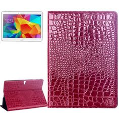 For+Tab+S+10.5+Magenta+Crocodile+Texture+Flip+Leather+Case+with+Holder