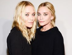 Mary-Kate and Ashley Olsen - click for their #makeup #musthaves! // #beauty #olsentwins