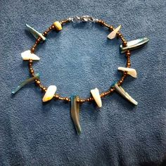 """I just added this to my closet on Poshmark: Summer shell anklet, Size: 9.5"""""""