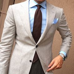 tieoftheday: Shades of Brown by @danielre