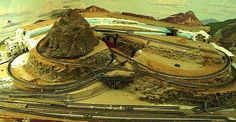 ho train layout mountains - Google Search