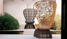 Armchair: CRINOLINE – Collection: B&B Italia Outdoor – Design: Patricia Urquiola