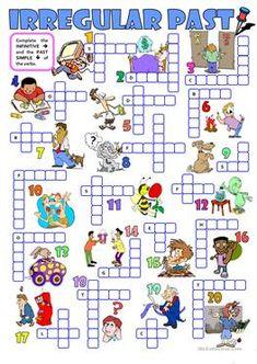 IRREGULAR PAST (2) - a crossword