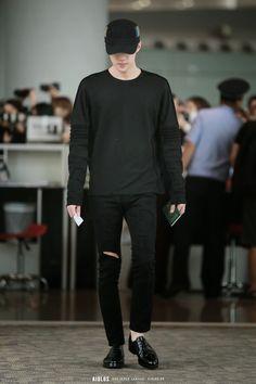 140922 EXO Sehun | Beijing Airport to Gimpo