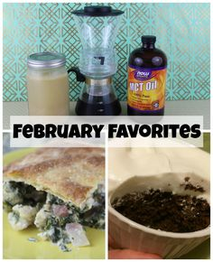First Time Mom and Losing It: February Favorites