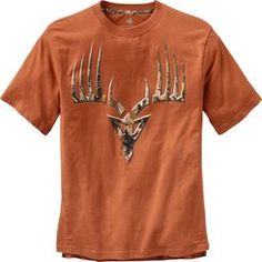 Monster buck meets broadhead - in full camo on our latest Pro Staff shirt!  Exclusive Legendary® tailored tee made from premium 100% cotton featuring Big Game® Camo accented side vents and collar taping.  Full color screen print decoration
