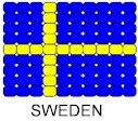 Swedish flag beaded safety pin pattern inkspired musings: Peace doves around the world Girl Scout Swap, Girl Scout Troop, Girl Scouts, Pony Bead Patterns, Beading Patterns, Multicultural Crafts, Sweden Flag, International Flags, Mini Flags