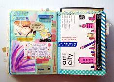 Get Messy || art journaling 02