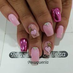 Romantic Nails, Crazy Nails, Nail Arts, Beauty Nails, Nail Designs, Pretty, Pedicures, Nail Jewels, Art Nails
