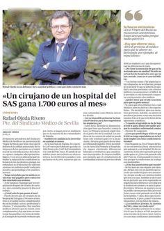 Un cirujano del #SAS #ServicioAndaluzdeSalud  obra 1.700 euros