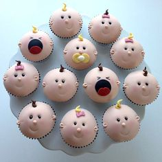 Baby Cupcakes.