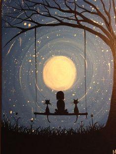 Whimsical Moon