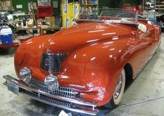 1940 Chrysler Newport concept car