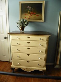 How to repaint dressers