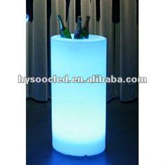 Glow Cylinder Pe Led Flower Pot & Led Big Lice Bucket - Buy Led Ice Bucket,Plastic Ice Bucket,Acrylic Ice Buckets Product on Alibaba.com