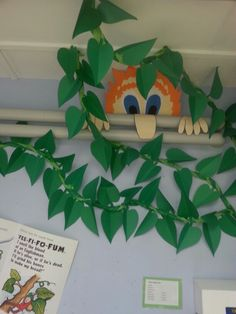 Part of Fairytale library display - Jack and the Beanstalk