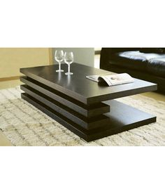 Furnish Living Brown Centre Table
