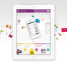 SNCF Ipad Application by yul , via Behance