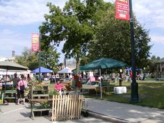 Thursday is Market Day at Historic Burlington Farmers' Market in Wisconsin 3 - 7pm in Wehmhoff Square - next to the Library Corner of Washington & Pine Streets http://www.farmersmarketonline.com/fm/HistoricDowntownBurlingtonFarmersMarket.html