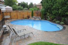 Having a pool sounds awesome especially if you are working with the best backyard pool landscaping ideas there is. How you design a proper backyard with a pool matters. Backyard Pool Landscaping, Small Backyard Design, Small Pools, Swimming Pools Backyard, Small Backyard Landscaping, Backyard Designs, Backyard Ideas, Landscaping Ideas, Lap Pools