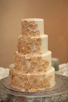 Lubbock Wedding Cake Flowers