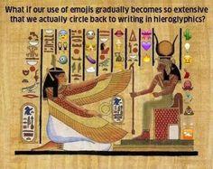 emoji take over hieroglyphics Morning Coffee
