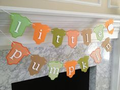 Hey, I found this really awesome Etsy listing at https://www.etsy.com/listing/204030512/baby-shower-decor-little-pumpkin-banner