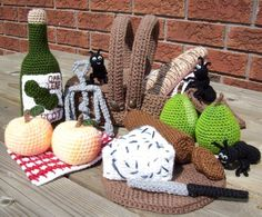 Items similar to Picnic.PDF Crochet Pattern on Etsy Crochet Wool, Crochet Crafts, Crochet Projects, Sewing Crafts, Diy Crafts, Amigurumi Doll, Amigurumi Patterns, Crochet Patterns, Confection Au Crochet