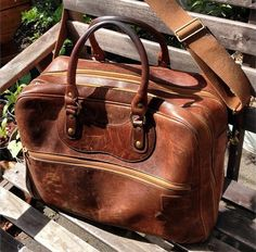 F R E E / M A N - Journal - J. Panther Luggage Co Weekender