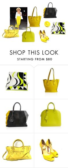 """""""Lemonade"""" by alexissuitcase on Polyvore featuring Emilio Pucci, Burberry, Fendi, Louis Vuitton, Balenciaga and Christian Louboutin"""