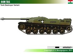 44M TAS Self-Propelled Gun