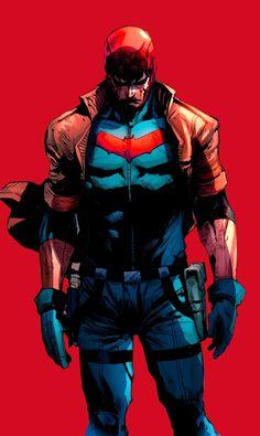 Red Hood and The Outlaws Nightwing, Batgirl, Batman Arkham Origins, Batman Arkham Knight, Gotham Batman, Batman Comic Art, I Am Batman, Batman Robin, Red Hood Dc
