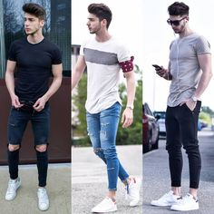 "4,428 mentions J'aime, 112 commentaires - Mensfashion / Mensstyle (@mensstyle.co) sur Instagram : ""Pick one! 1, 2 or 3 ? Comment Below ! Double tap if you like the styles! Follow @mensstyle.co…"""