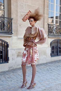 Patrick Demarchelier's Dior Couture Photo Shoot