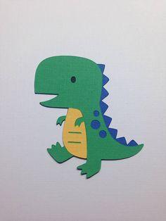 Artículos similares a TREX Dinosaur Die Cuts ~ Dinosaur Cut Outs, Cute Dinosaur Party Decorations, Dinosaur Party Supplies, DIY Cupcake Toppers, DIY Centerpieces en Etsy Dinosaur Cut Outs, Dinosaur Cards, Cute Dinosaur, Felt Crafts Patterns, Baby Bibs Patterns, Dinosaur Birthday Cakes, Baby Applique, Bubble Guppies Birthday, Cute Tiny Tattoos