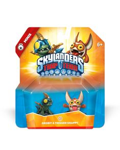 Amazon.com: Skylanders Trap Team: Trap Master Gearshift Character Pack: Video Games