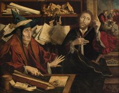 De gelijkenis van de onrechtvaardige rentmeester, Kunsthistorisch Museum, Wenen