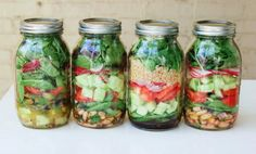 9 Make-Ahead Lunches to Carry in a Mason Jar