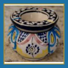 Fasia Ashtray Medium By Treasures Of Morocco If you are looking for a ceramic ashtray with lid, that is truly Moroccan, you have found it.