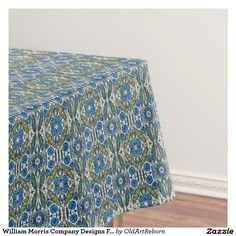 William Morris Company Designs For Tableware Tablecloth