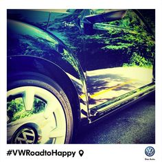 For Carlos Perez, his #VWRoadToHappy is reflected in an ultra-clean car-in this case, a Fender Edition #VWBeetle.