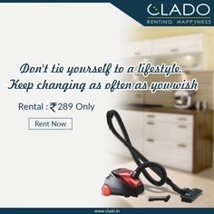 Looking for a carpet cleaner rental?  ☟ http://www.clado.in/appliances/vacuum-cleaner ☎ +91-81 30 598959, +91-81 30 598979 #cleandelhi #clado #vacuum #cleanroom
