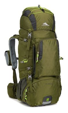 High Sierra Tech 2 Series Titan 55 Internal Frame Pack * See this great image  : Backpacks for hiking