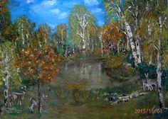 Das ist mein Gemälde -Herbstafarben- Herbst