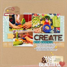 Create layout by Sarah Webb