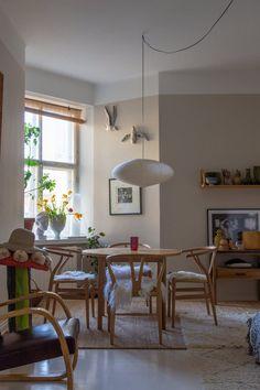 Home Decoration Cheap Ideas Kitchen Dinning Room, Dining Room Design, Living Room Inspiration, Home Decor Inspiration, Scandi Home, Interior Decorating, Interior Design, Room Colors, Room Interior